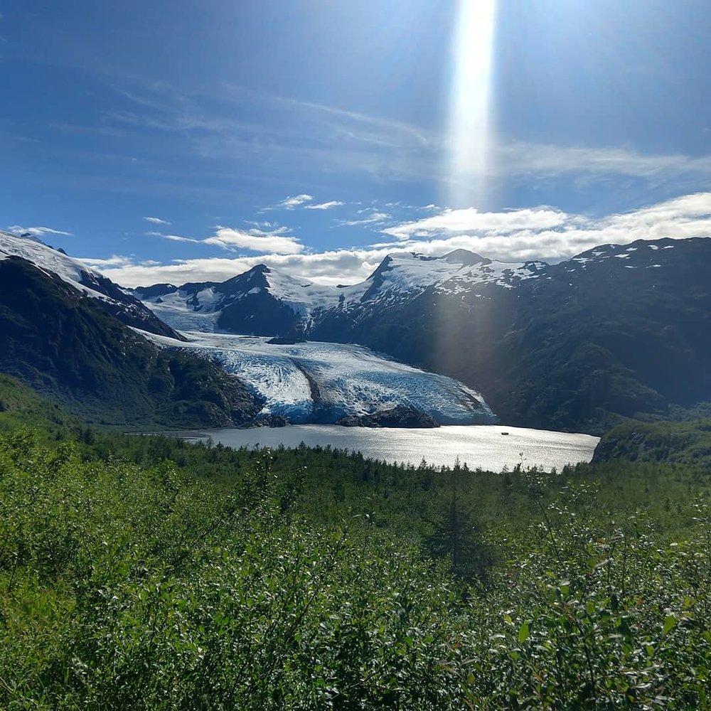 Portage Glacier, Whittier, AK