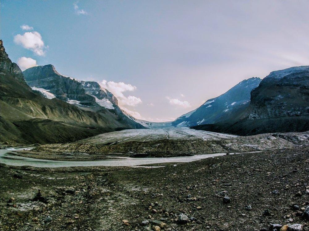 Columbia Glacier, near Jasper.