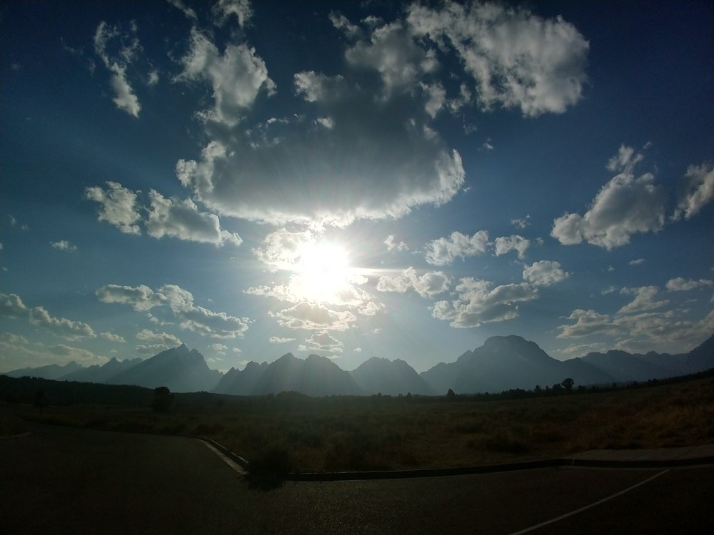 Mountains..I think.