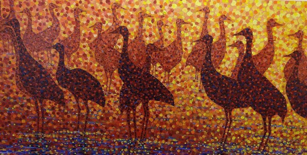 Sandhill Cranes, Steve Osman