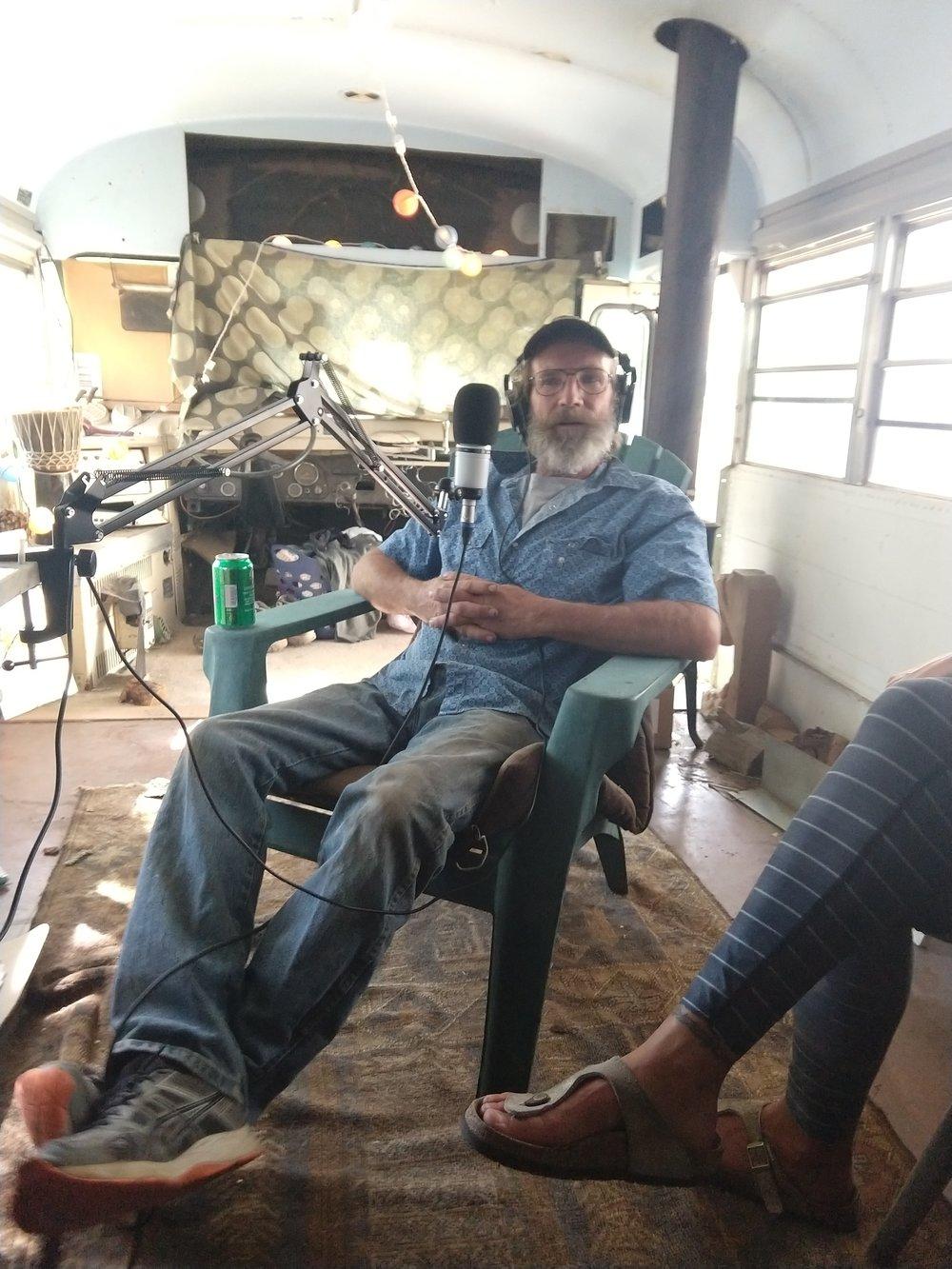 Johnny Keenan…and Tiff's feet.