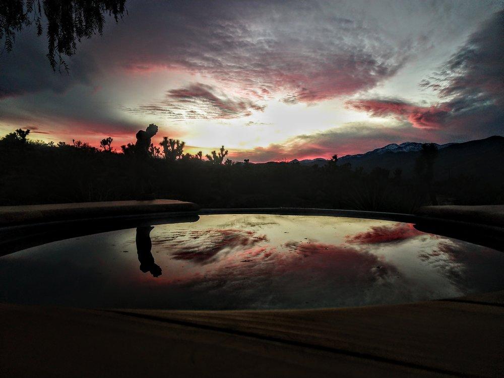 Yucca Valley Sunset…yawn.