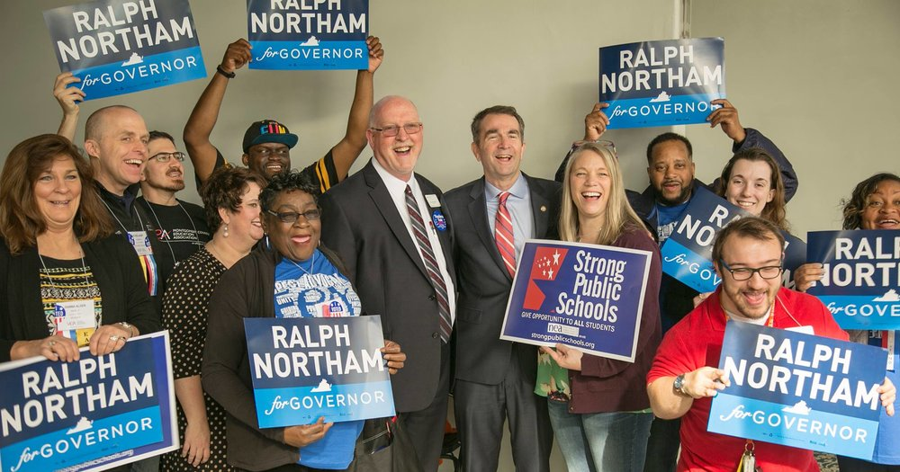 Photo courtesy Ralph Northam for Governor
