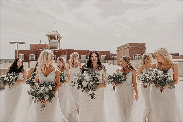 Did you catch yesterday's bride advice blog?! Link in bio! . Photo: @beimagesphotography  Planning: @eventsanddesignbyashley  Venue: @distillery244  Video: @fspict  Florals: @mooreflowerswichita  Dress: @shopdressgallery  Men's Attire: @accentbridal  Stationery Design + Paper Goods: @southernnobleco  Photo booth: @lamphousephoto  Lighting: @lelucieventlightingllc  Makeup: @brookecero  Hair: @brielynnshair