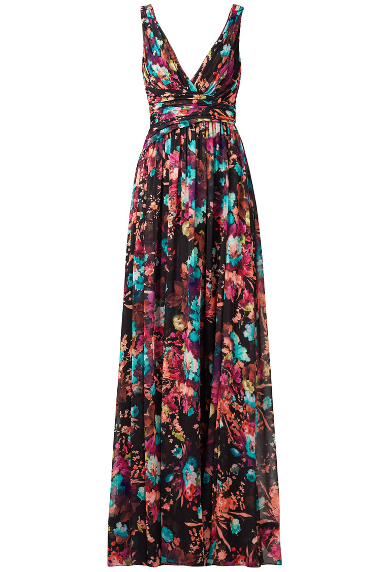 Shop Badgley Mischka Floral Gown from Rent the Runway April 2018 ...
