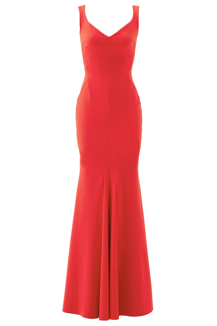 Shop Chiara Boni Red Whitney Gown from Rent the Runway April 2018 ...