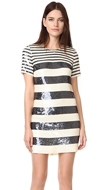 ac6bd5378c Shop Veronica Beard Sequin Tee Shirt Dress from Veronica Beard May 2018  Sample Sale