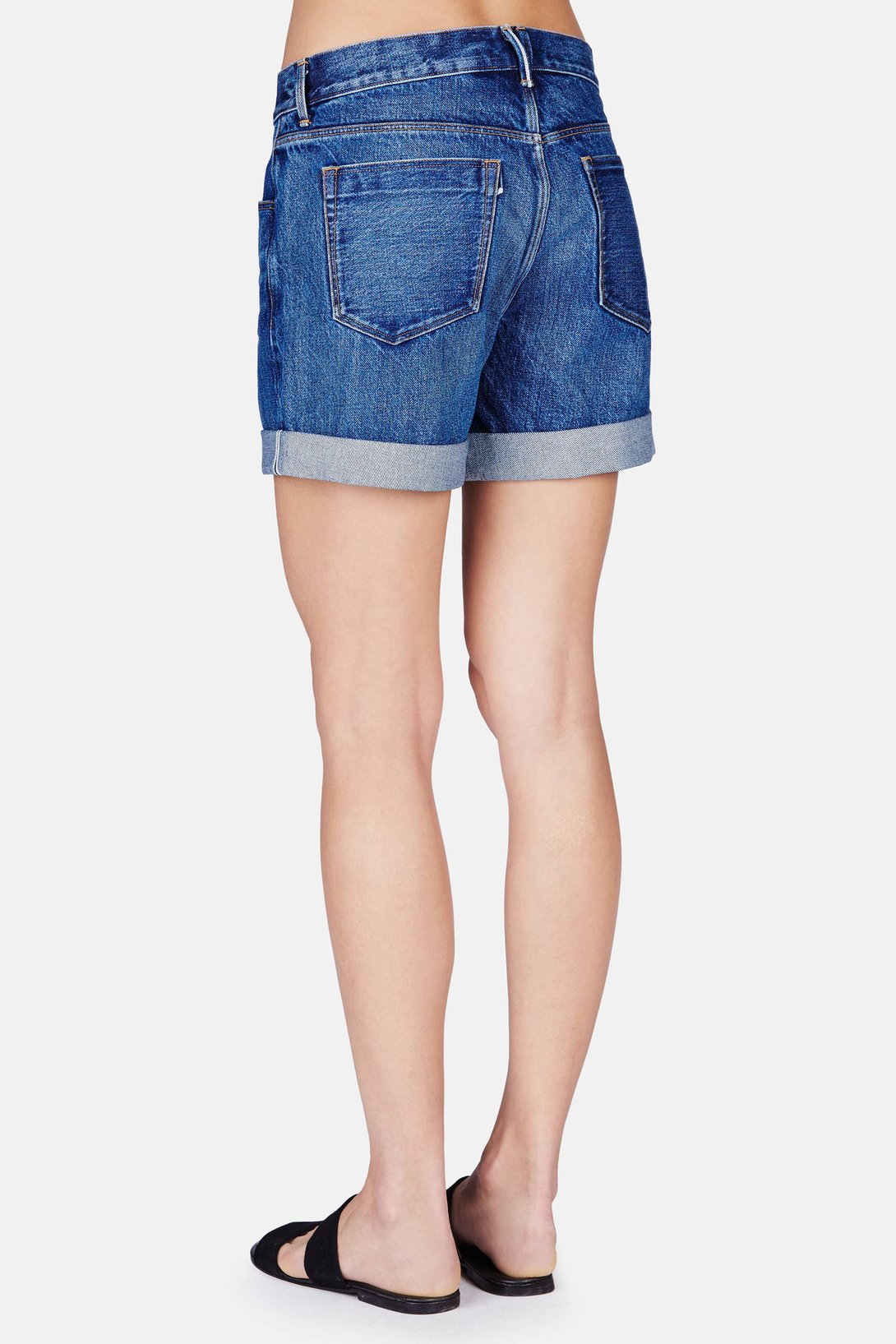 15783fbeea96 Shop 3 x 1 Washed Boyfriend Short in Classic Vintage from The Best of NYC  Designer Sample Sale Women s Pants   Shorts Sample Sale