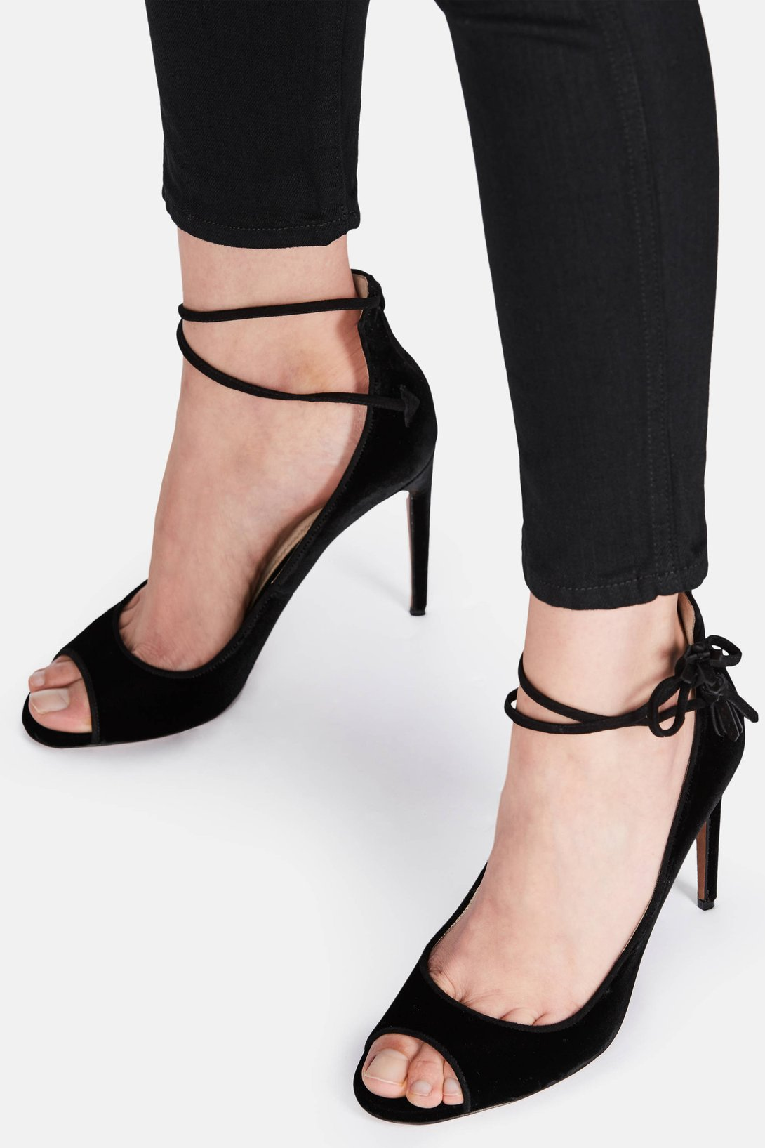 407b7d6cc04 Shop Valentina Carrano Nolita - Black Velvet from The Best of NYC Designer  Sample Sale Women s Shoes Sample Sale