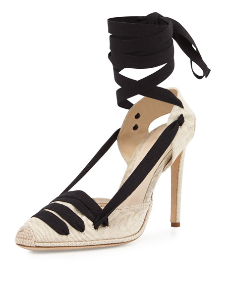 e8b9515405d Shop Altuzarra D Orsay Heels in Almond from The Best of NYC Designer Sample  Sale Women s Shoes Sample Sale