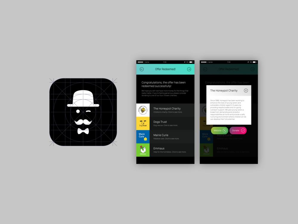 App Icon & UI Design Concept
