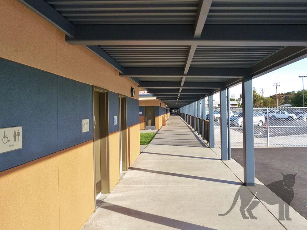 Van Buren Classroom Buildings - Stockton Unified School District