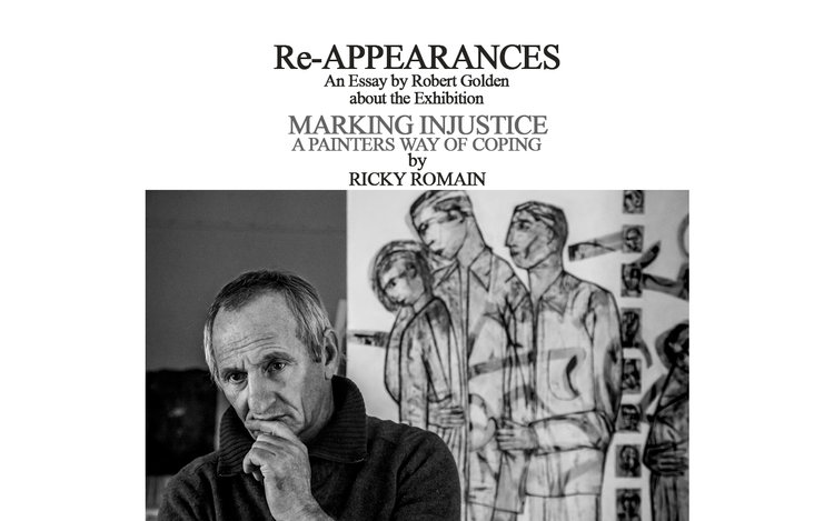 re appearances an essay about ricky romain painter robert  there is a able pdf of the complete essay here and their is the ly available film by robert golden below