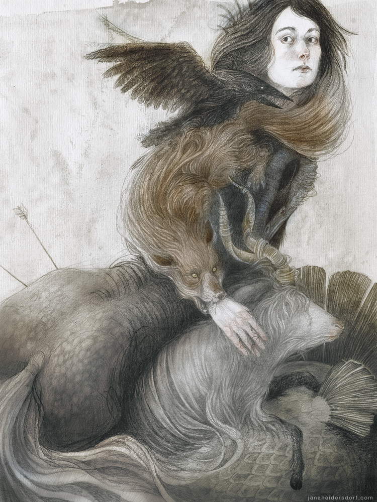 jana heidersdorf - Illustrator b.1993, Germany