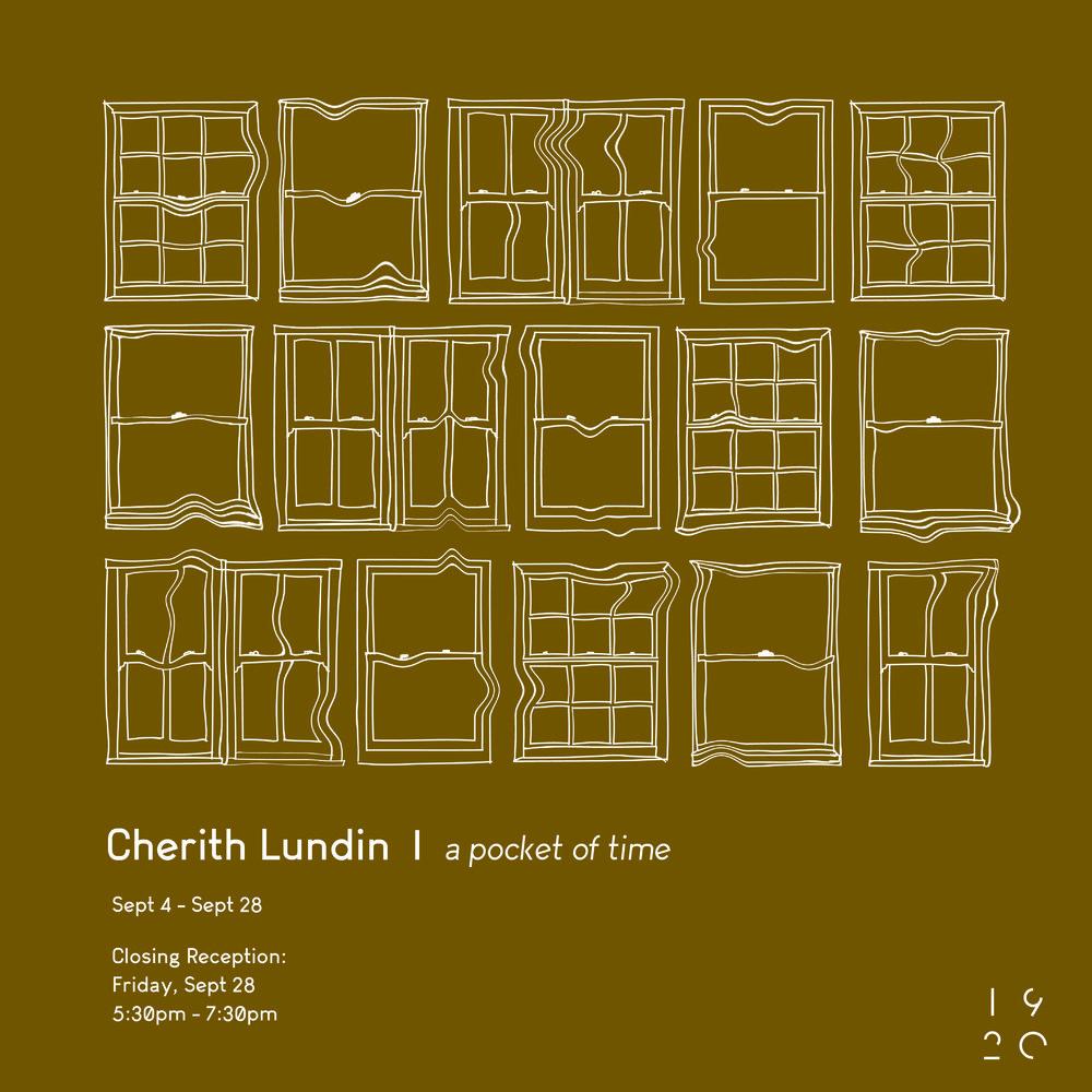 A POCKET OF TIME - CHERITH LUNDINSEPTEMBER 4 - SEPTEMBER 28