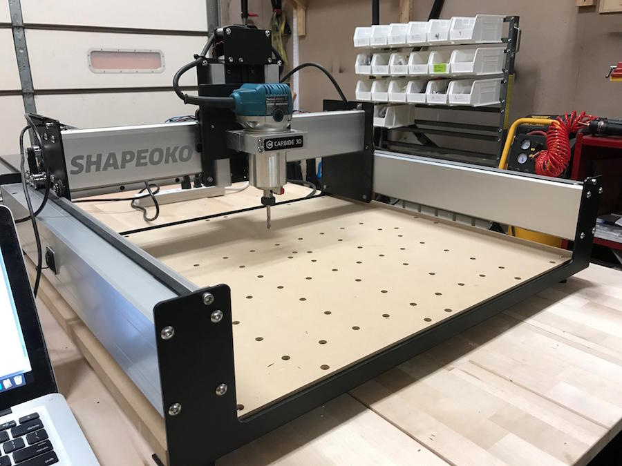 CNC Machining (Coming September 2019) - Learn how to use Braincubator's new Shapoeko 3 Desktop CNC machine. Students can mill wood and metal parts while discovering the ins-and-outs of this highly capable machine.Braincubator uses the Shapoeko 3XL desktop CNC.