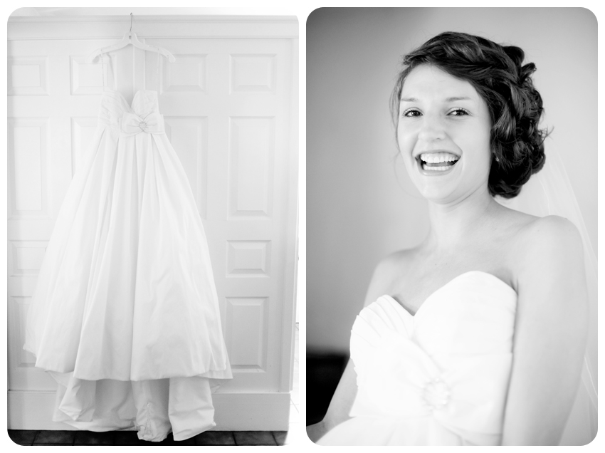 David's Bridal Wedding Gown spiral staircase bride