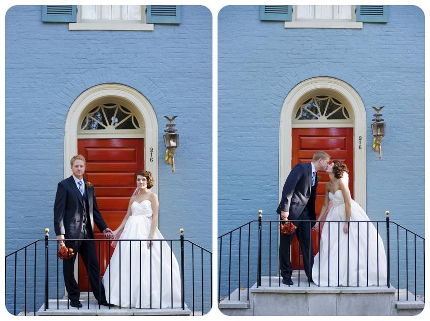 lexington red door wedding