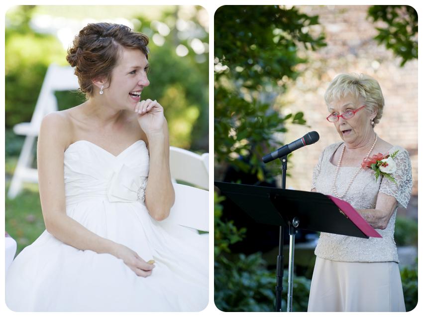 bodley-bullock house garden wedding grandmother's poem