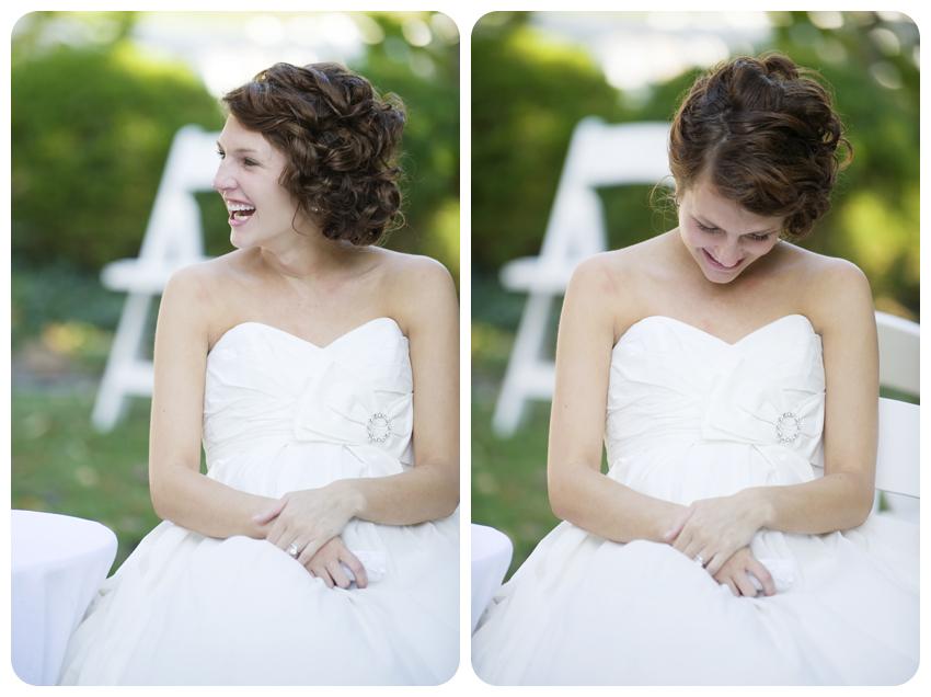 bodley-bullock house garden wedding bride
