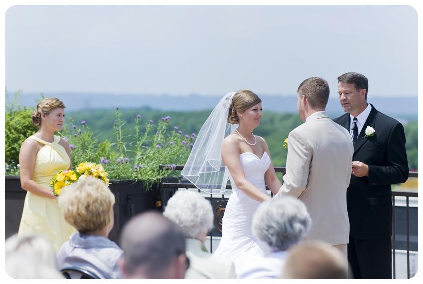Frazier Arms Museum Rooftop Wedding Louisville Kentucky
