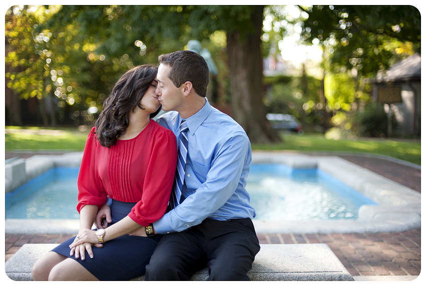 Gratz Park Engagement Photos