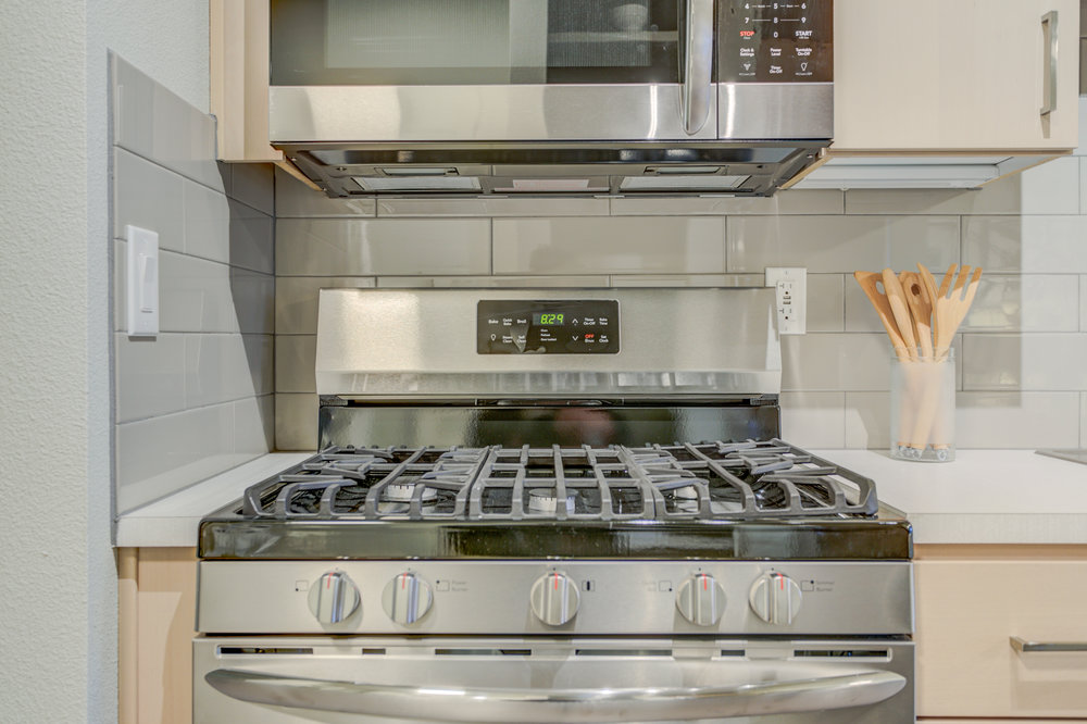 Five-Burner Gas Range Stoves -