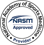 NASM Approved National Academy of Sports Medicine