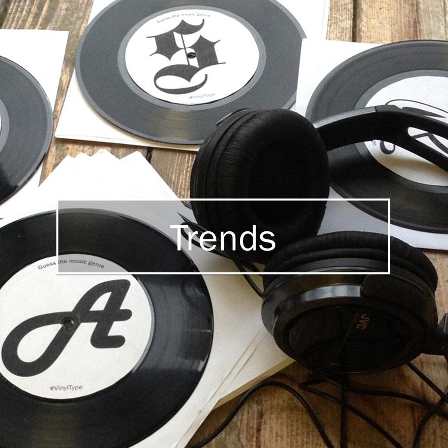 Type Tasting workshops * Trends *