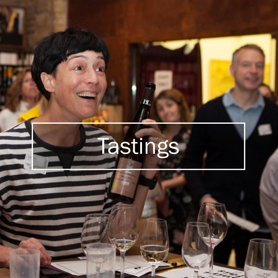 Type Tasting events: Tastings