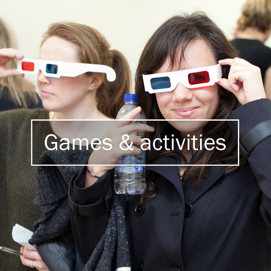 Type Tasting events: Games and activities