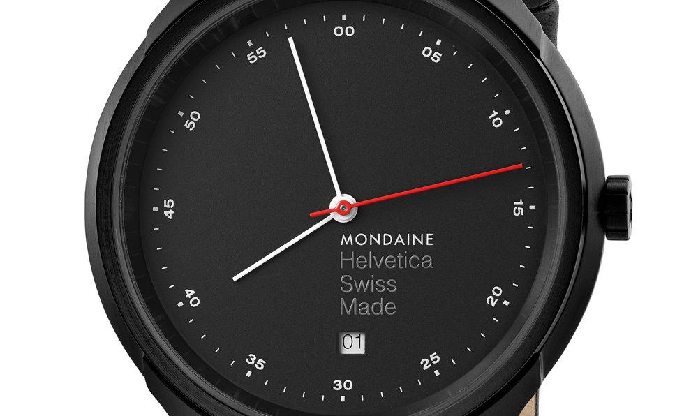 Mondaine Helvetica watch