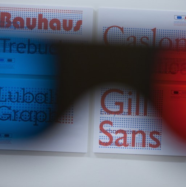 Type Tasting font goggles