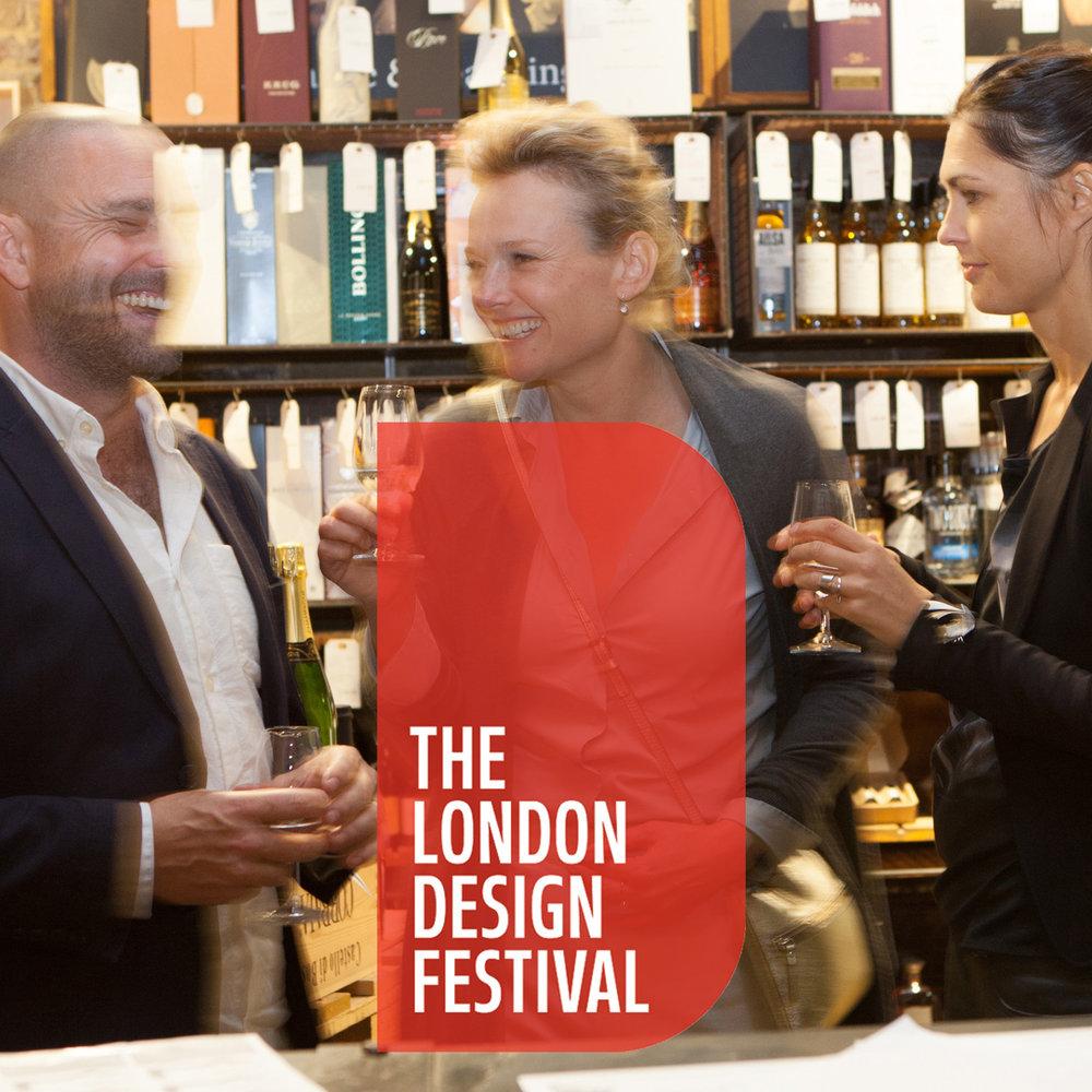 September * Events *  London Design Festival  Gin & Type Tasting Wine & Type Tasting Bankside Design District  Find out more