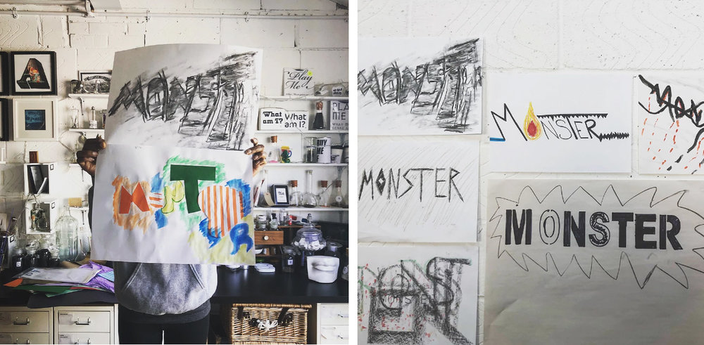 Type Tasting x #mindmonsters workshop