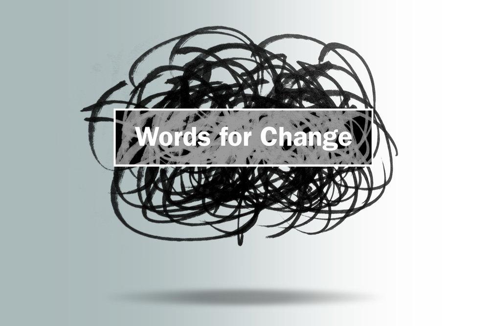 Words for Change workshop