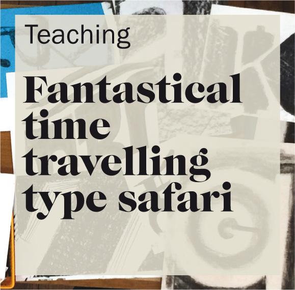 Fantastical time travelling type safari