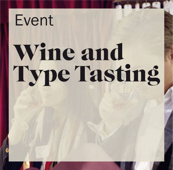 Wine and type tasting