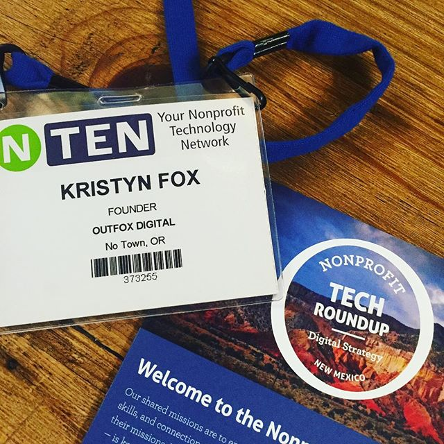 We had a fantastic time presenting at the #NM Nonprofit #Tech Roundup these past couple days. So thankful for the opportunity - It was great! 😀 . . . . . #Technology #Nonprofits #SocialMedia #Presentations #Networking #Event #ABQ #NewMexico #BoostYourBiz #DigitalMarketing #Outfox