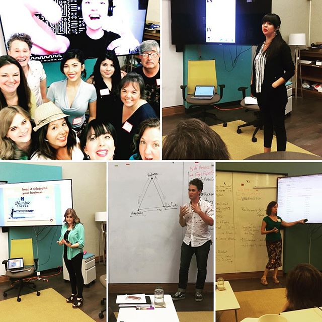 Just look at our faces - we are so passionate about #socialmedia and are having a blast today at the #KickassSM workshop! . . . . . #SocialAddicts #Learning #MakingConnections #DigitalMarketing #Workshop #Biz #BizOwnersUnite #BeSocial #ABQ #Entrepreneurs #NM #NMProud