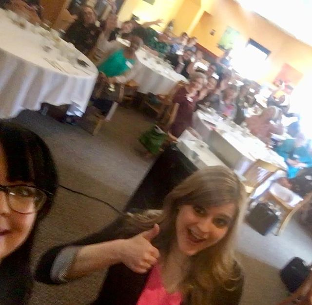 Although a little blurry, you can still tell @kkfoxy and @julia_abq had a blast speaking about #socialmedia and #nonprofits for the @afpihq #NM chapter today! 😁 (We're missing @sdewing_author and @joanmarie87 though!) . . . . . #entrepreneursofinstagram #businesspassion #leadership #womeninbiz #entrepreneur #successmindset #socialmediastrategy #business #motivation #professionaldevelopment #socialmarketing #hustle #marketing #presentation #publicspeaking