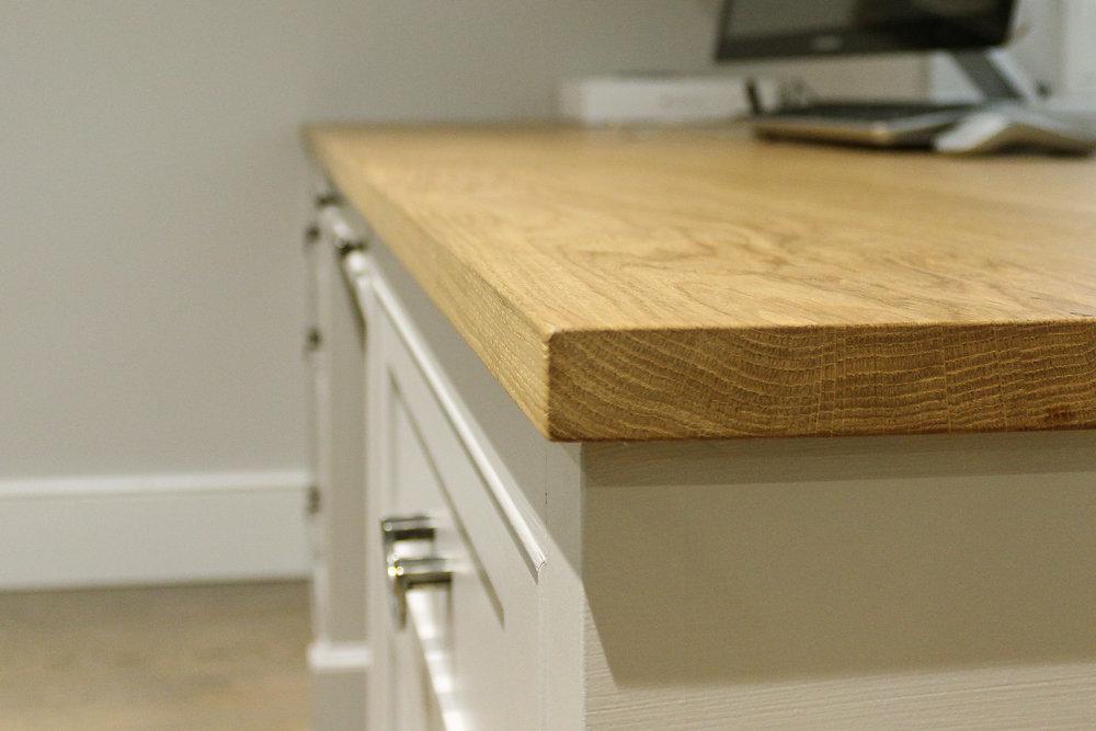 Solid Oak worktop - Oiled
