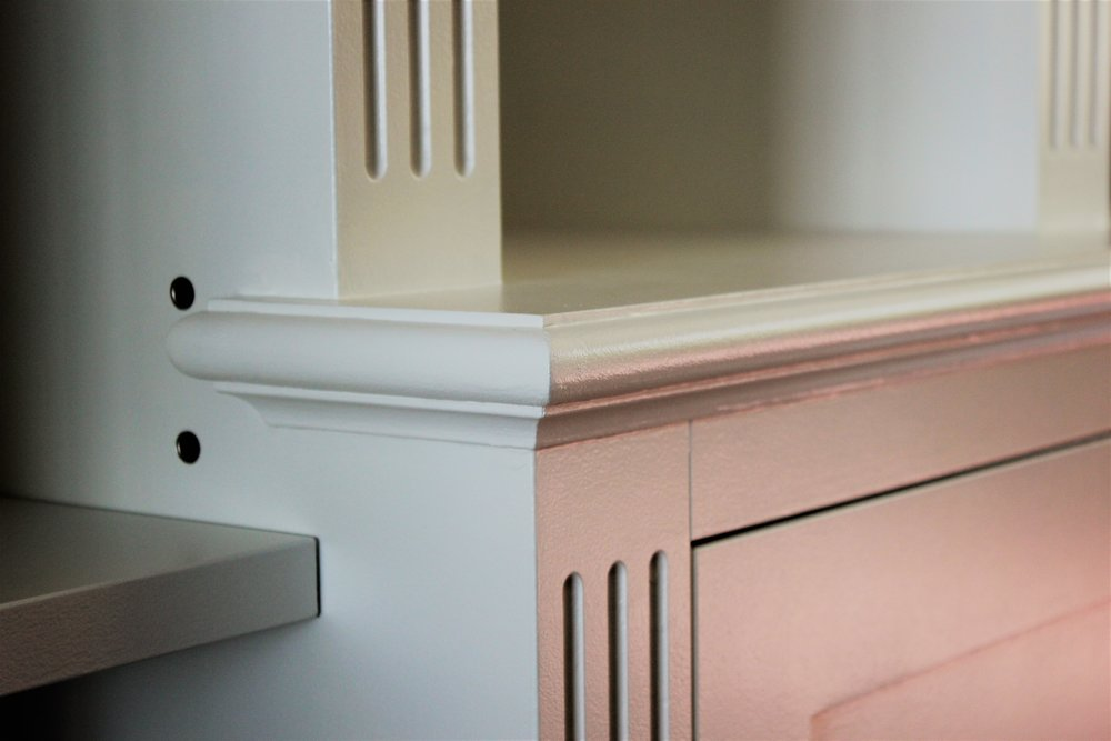 Bullnose and Scotia Hand-Painted