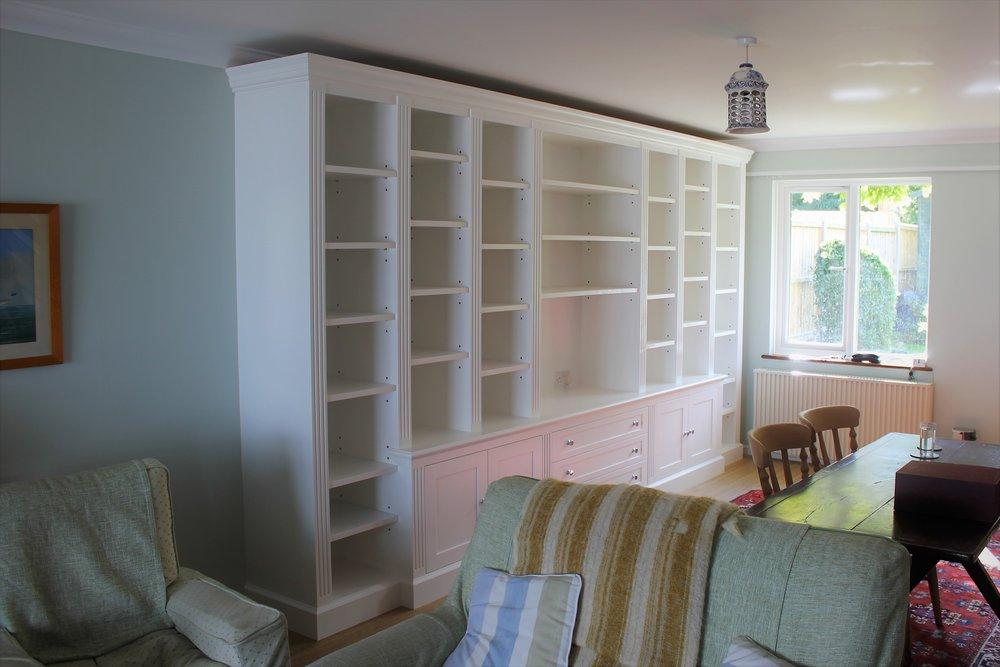 Traditional bookshelf