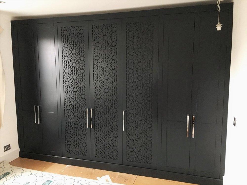 CNC Arabic design