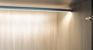LED hanging rail