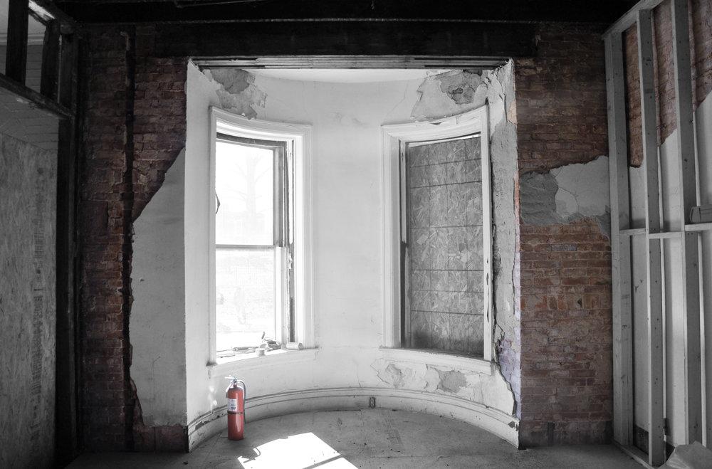 2833 Interior Windows During Renovation