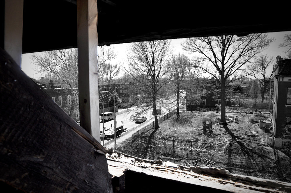 View of Neighborhood from 2833 During Renovation