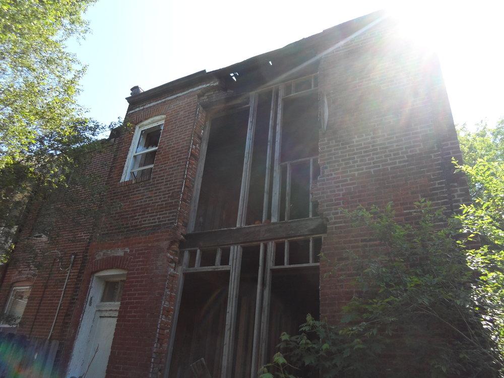 Back of Building
