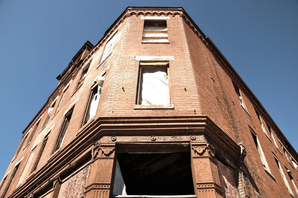 Exterior Pre-Renovation
